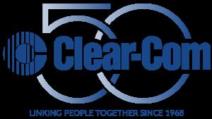Clear-Com 50th Anniversary Logo